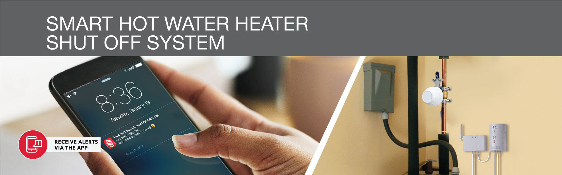 Smart Hot Water Heater Shut Off System